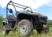 The side-by-side type of ATV is responsible for two times as many accidents
