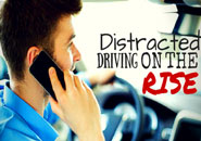 Distracted Driving Up in Pennsylvania