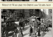 driving 100 years ago