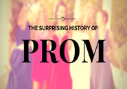 history of prom
