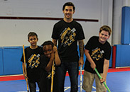 Kris Letang and Playworks