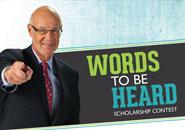 2016 Words to Be Heard Scholarship