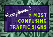 confusing traffic signs in PA