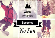 snow fun no fun