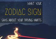 zodiac sign driving habits