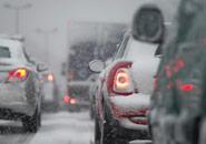 winter car driving