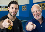 Teaming up with Kris Letang