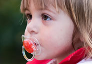 pacifier child