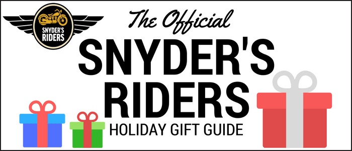 Snyder's Riders holiday gift guide