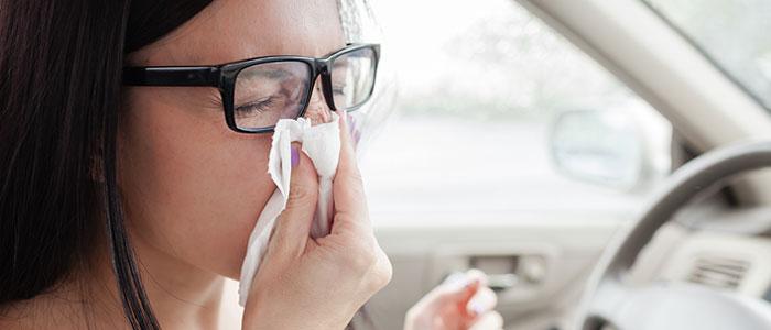 Don't drive sick
