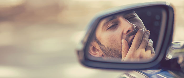 Beware of the dangers of drowsy driving