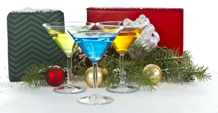 Winter Holiday Mocktails