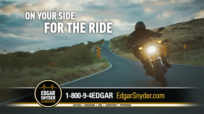 On Your Side for the Ride Motorcycle Accident Commercial from Edgar Snyder & Associates