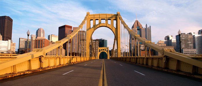 Bridge in Pittsburgh PA