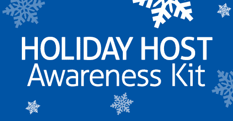 holiday host awareness kit