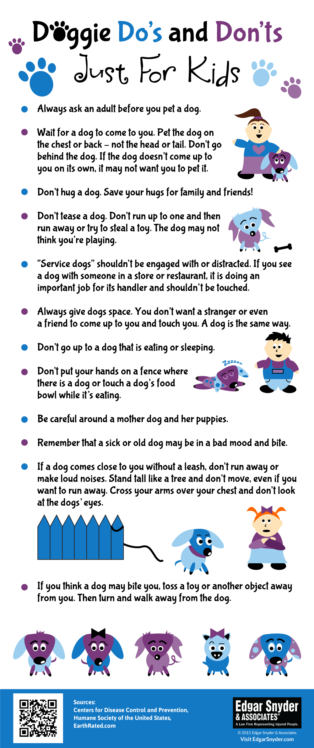 Doggie Do S And Don Ts For Kids Infographic