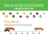 Back-to-School Safety Tips - Fun Facts [Infographic]