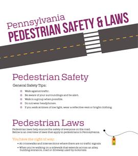 Pedestrian Safety [Infographic]