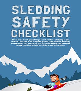 Sledding Safety Checklist - Infographic