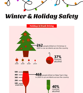 Winter Holiday - Infographic