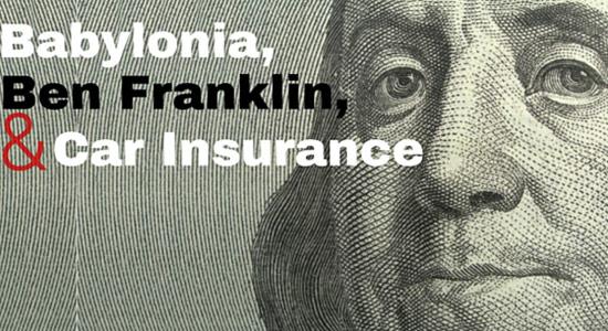 history of car insurance