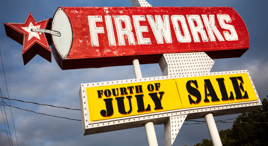 buying fireworks
