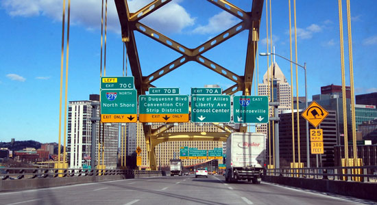 Pittsburgh's Crazy Roads