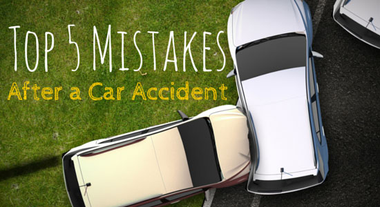 5 Mistakes After an Accident