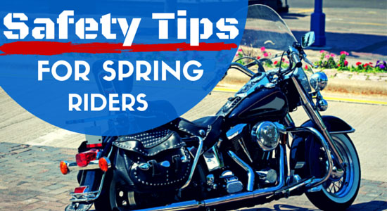 Safety Tips for Spring Riders