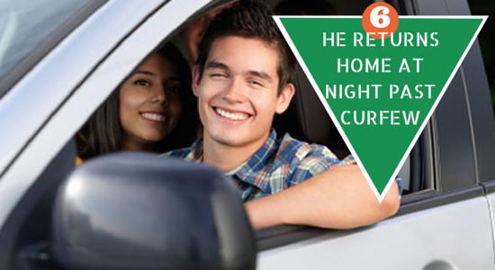 teen driver curfew