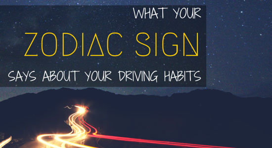 zodiac sign driving habits