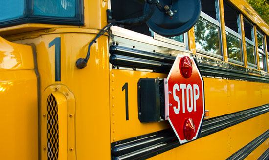 School bus accident statistics show crashes are rare.