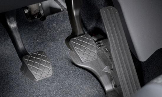 break pedal
