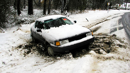 You Drive Defensively When You >> Bad Road Conditions - Car Accident Attorneys