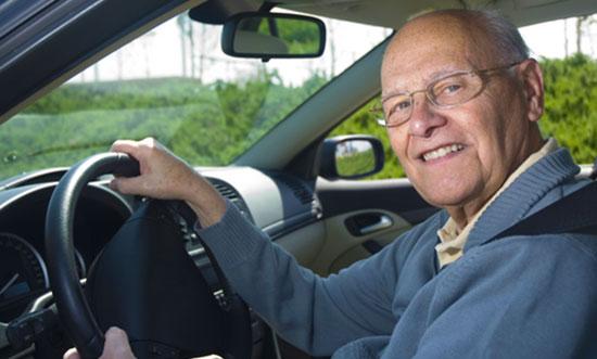 older driver