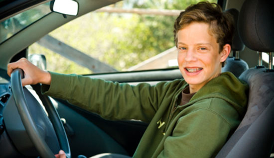 Teen driver restrictions