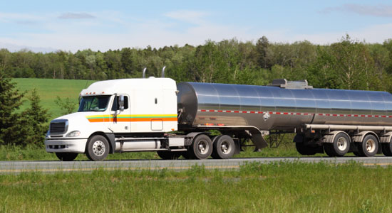 Marcellus Shale truck accident