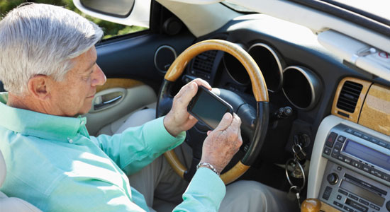 smartphone driving