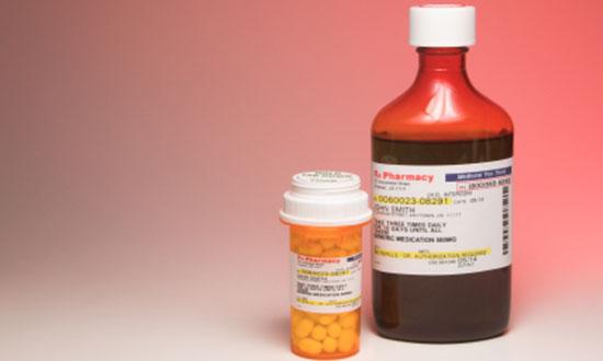pills and liquid medications