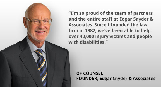 Counsel & Founder Edgar Snyder