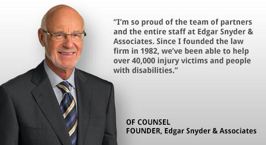Pennsylvania Accident Attorney Edgar Snyder