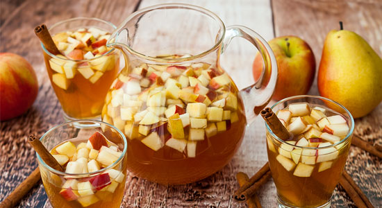 Try this Apple Pie Punch mocktail.