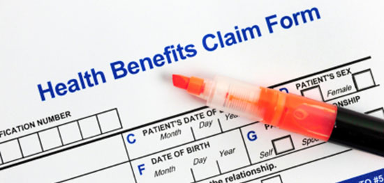 health benefit claim form motorcycle injuries