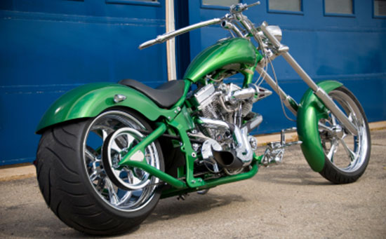 custom motorcycle chopper