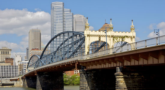 History of Pittsburgh's Most Popular Bridges