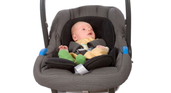 Car seats unsafe outside of cars