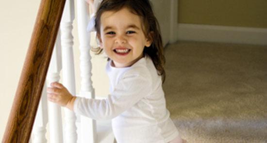 child stair injuries