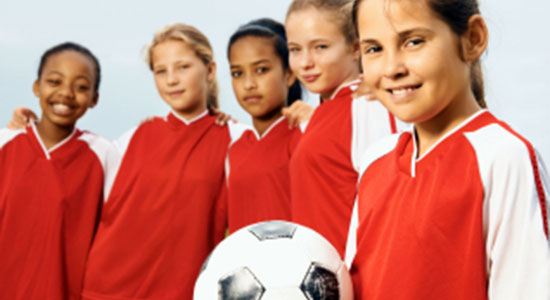 girls and young athletes concussions