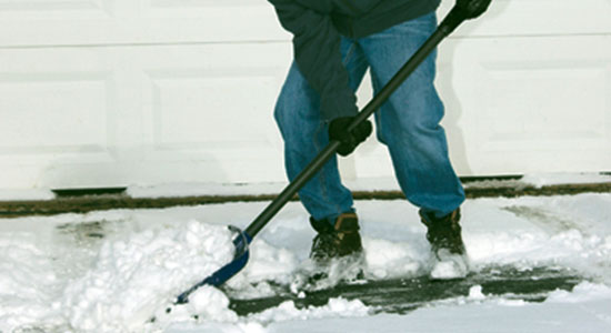 Kick Snowy Driveways to the Curb