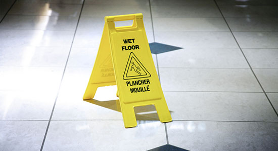 Wet Floors are not the Only Cause